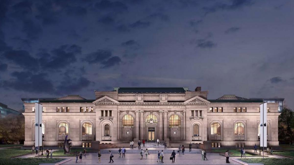 苹果在百年图书馆开了一家新门店,卖产品不是主要目的