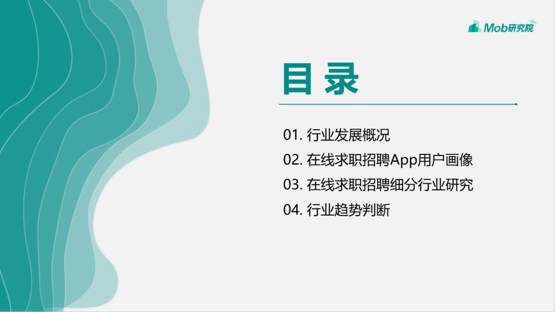 2019互联网招聘行业研究报告