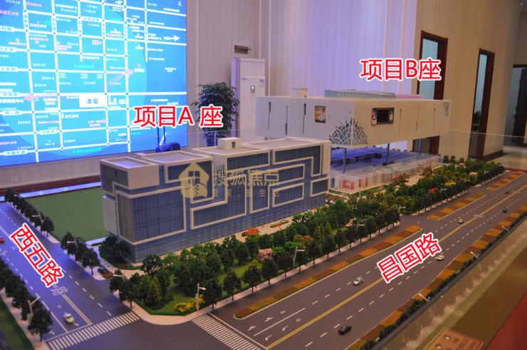 嘉瀚家居广场工程进度播报 6800元/㎡起 买带装修办公公寓