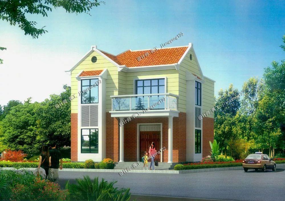 新农村住宅设计图纸_别墅设计图纸_农村自建房设计dc0016