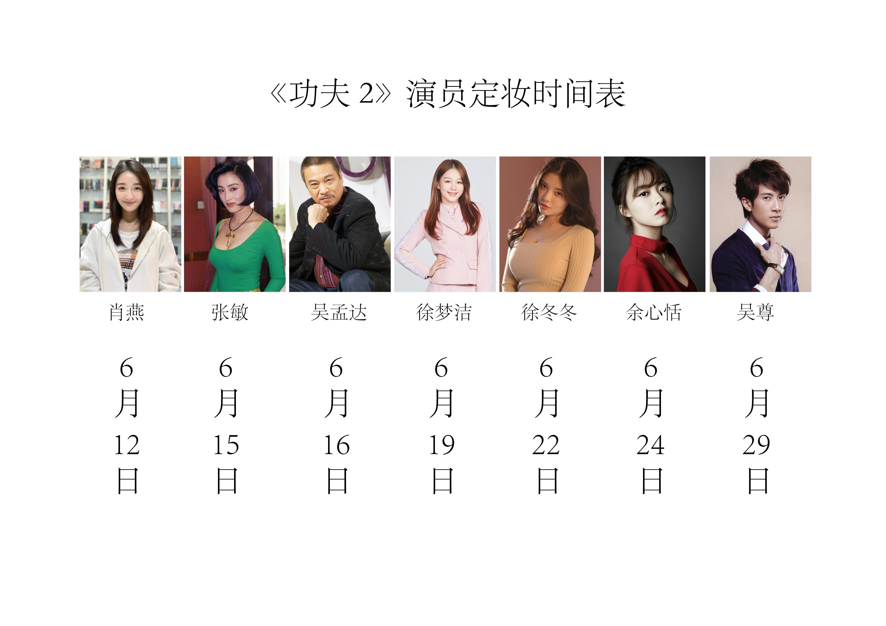 周星驰《功夫2》演员表已出,还有吴孟达