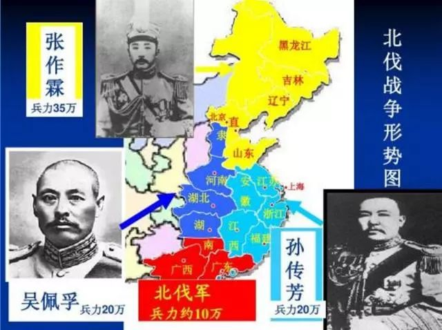 北洋军阀割据图,河南周边各省均被军阀占据,为何无人占据河南