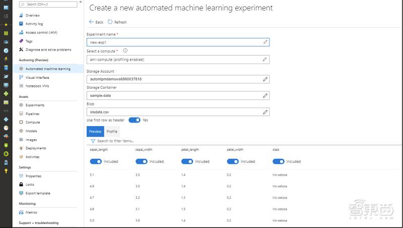 微软推出三项机器学习简化服务,数据导入一键完成
