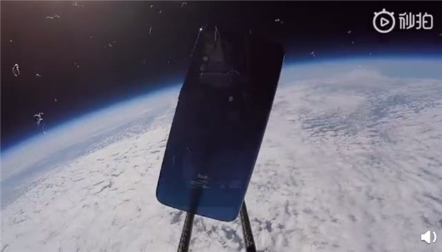 雷军微博晒678彩票视频:Redmi Note 7上太空了