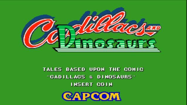 回顾恐龙快打游戏以及游戏原图