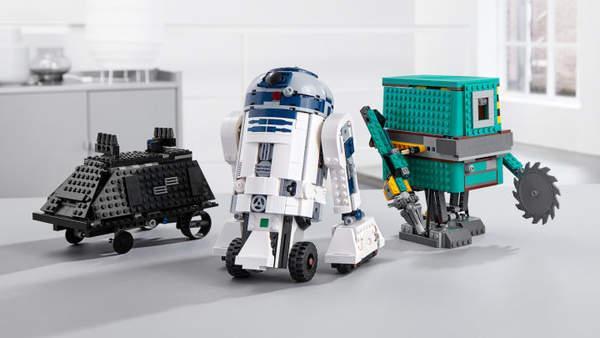乐高与《星球大战》再度合作 推出可编程机器人套装