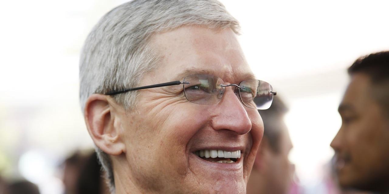 蒂姆库克说,苹果在过去六个月内收购了20-25家678彩票