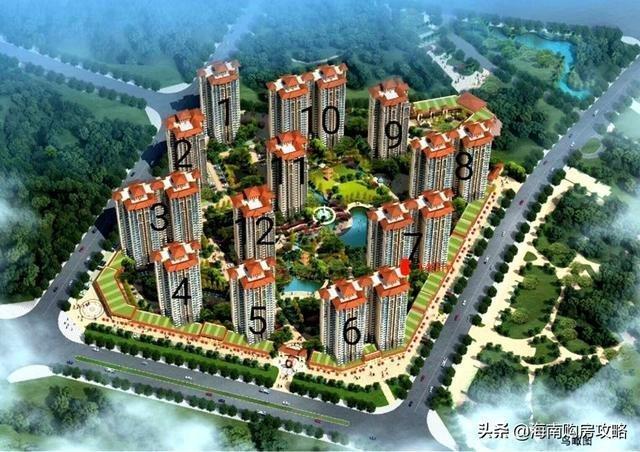 滨江世纪佳城正式启动认筹海口新楼盘项目靠近江东新区发展区