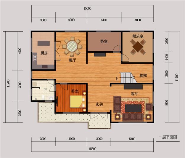 12米×16米房子设计图