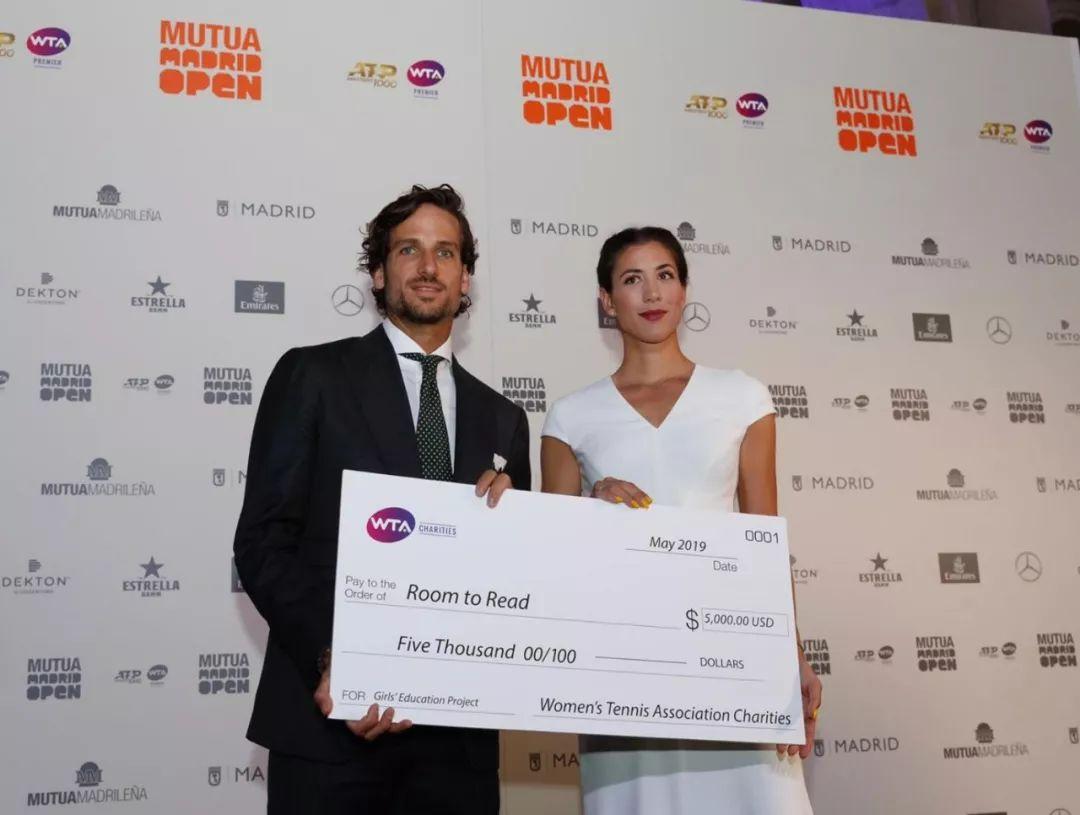 球员动态 | 穆古鲁扎慈善项目获WTA捐赠善款