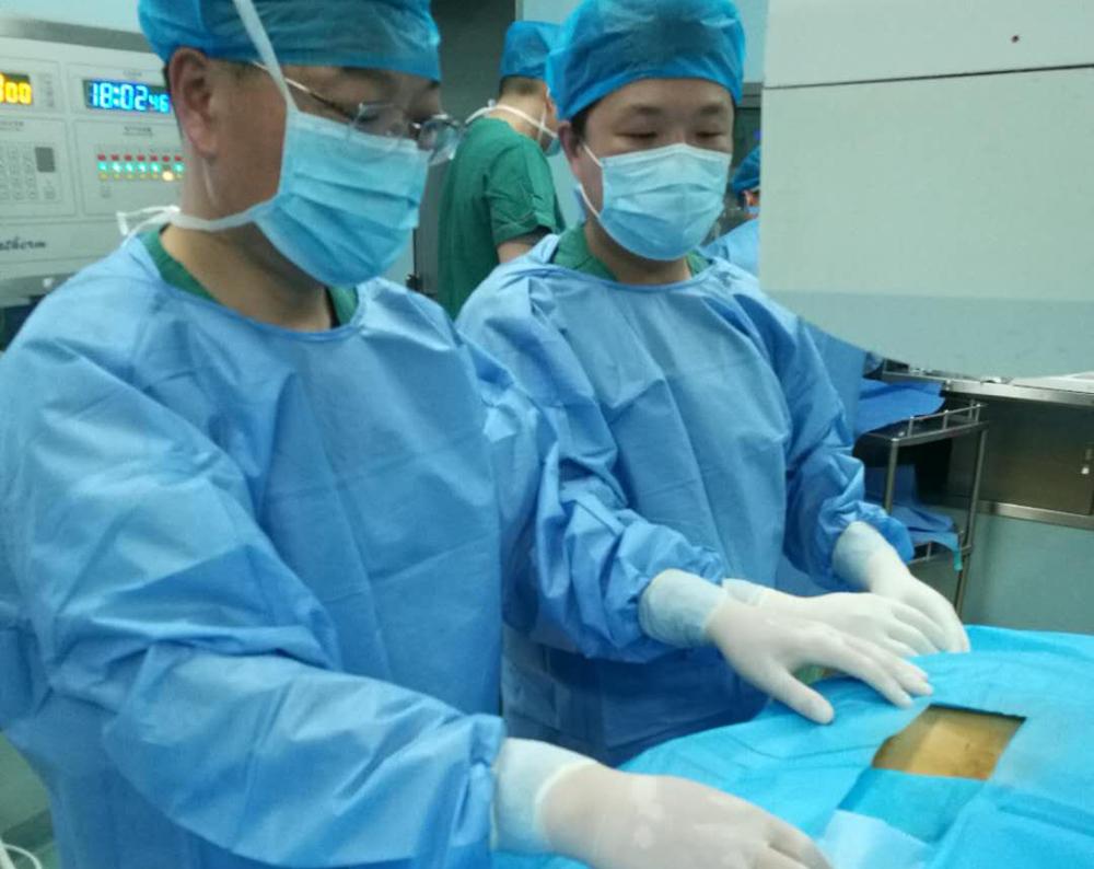 山东省新泰市人民医院疼痛科成功开展椎间孔镜微创手术