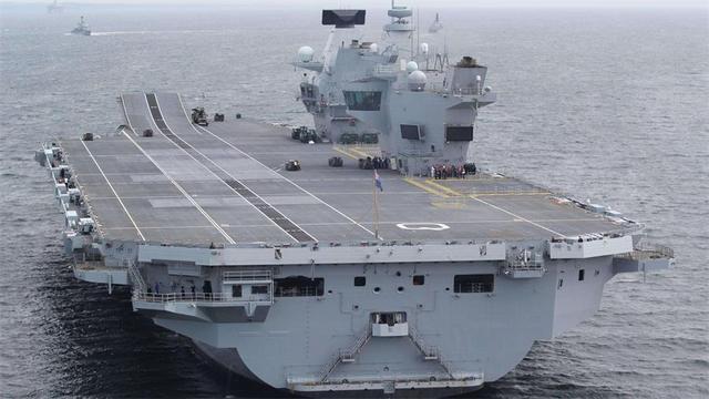 巧合吗?英国与中国新一艘航母都即将入役,谁先实现双航母为亮点