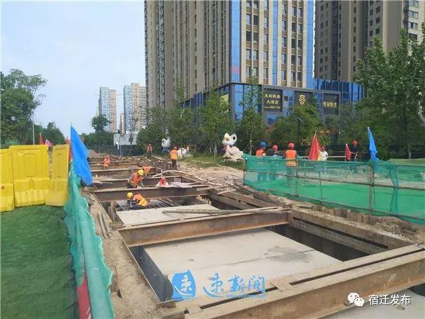 宿迁中心城市重点工程建设如火如荼,您关心的大项目稳步推进中