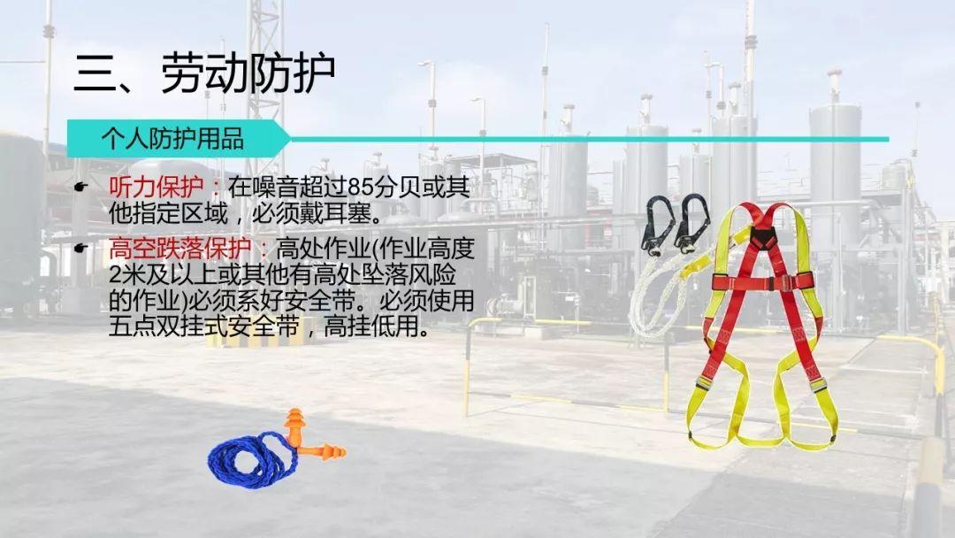 承包商 外来施工人员入厂安全培训 PPT