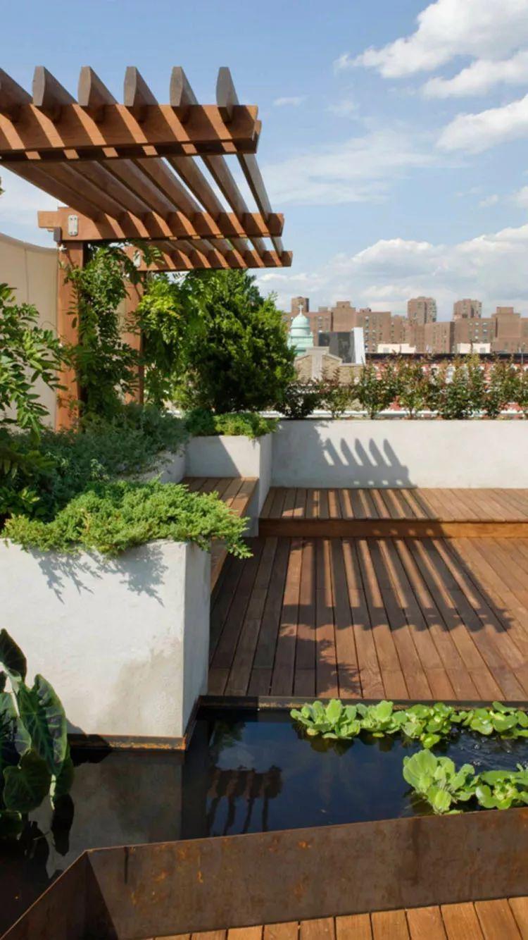 上海屋顶花园设计,御梵景观