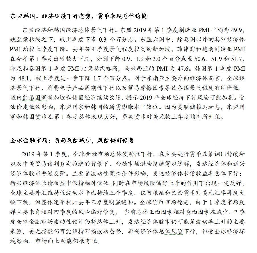 2019我国经济形势_2019年一季度中国通信行业经济运行情况分析