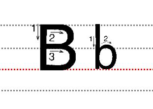 趣味画--字母D变成企鹅