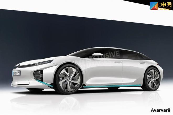 预计2021年正式亮相 雪铁龙纯电动大型车渲染图曝