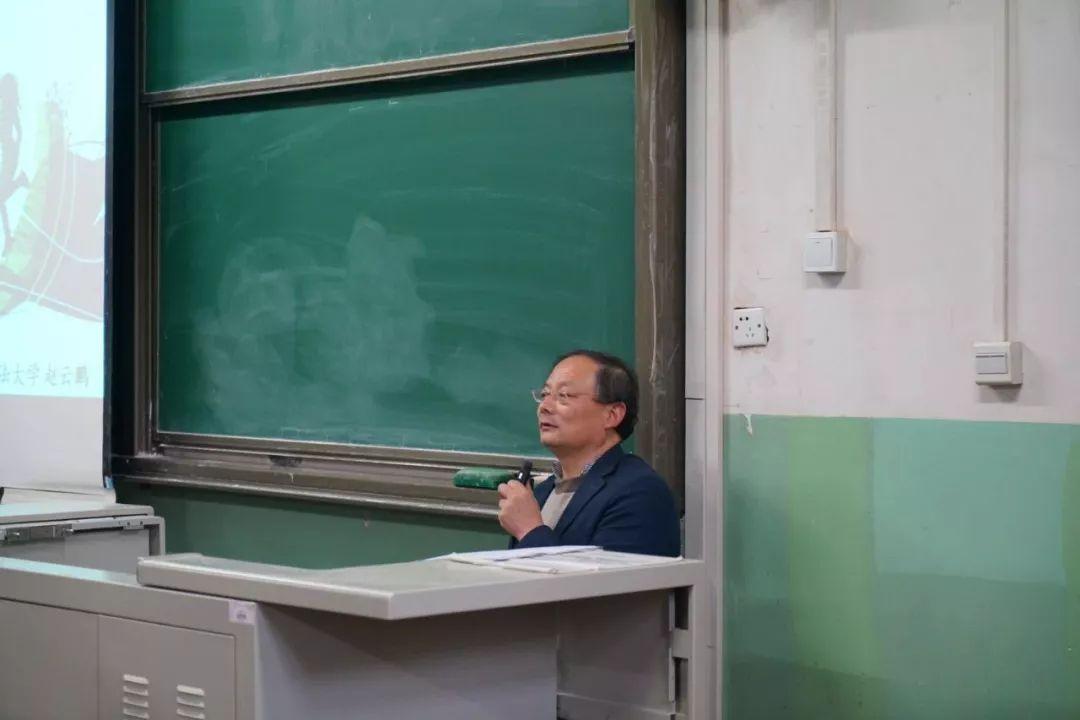 赵云鹏:青年学生党员健康成长之道