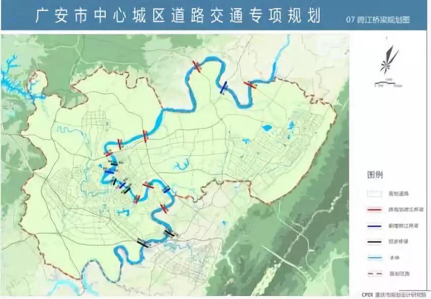 广安三环规划图