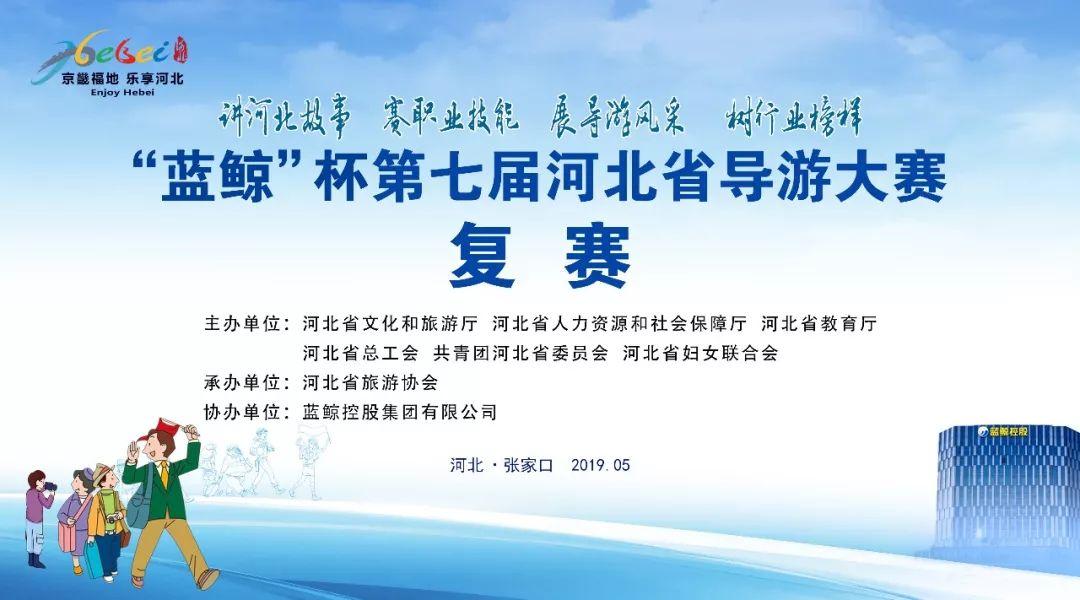"""""""蓝鲸""""杯第七届河北省导游大赛复赛投票开始啦,你pick哪一位?"""