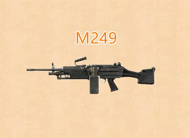 可以在短时间内对目标造成非常高的伤害.不过M249的缺点同样明显...
