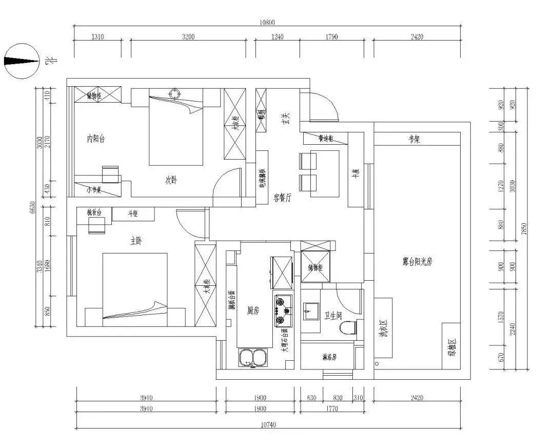宜家商场内部平面图