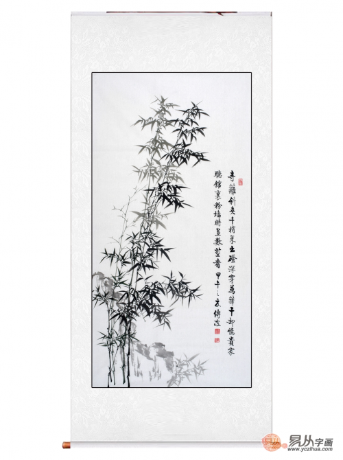 欣赏李传波的国画竹子图,这几幅就够了图片