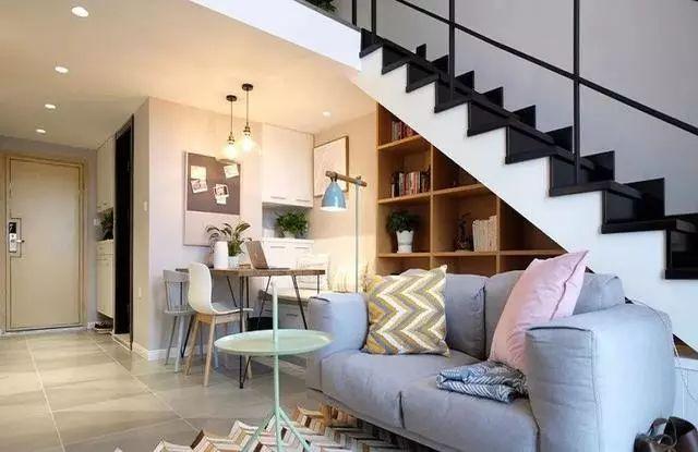 47㎡复式北欧风单身公寓,舒适又温馨!闺蜜见了直夸漂亮!