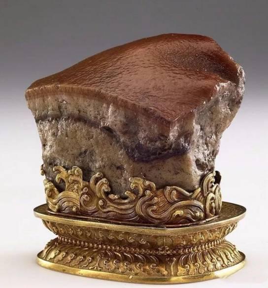 中国四大奇石之一 东坡肉形奇石