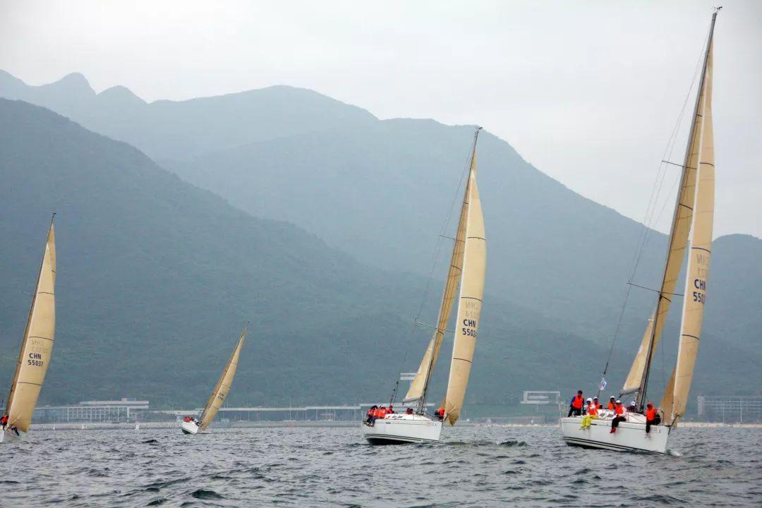 2019俱乐部帆船联赛第三场圆满举行!