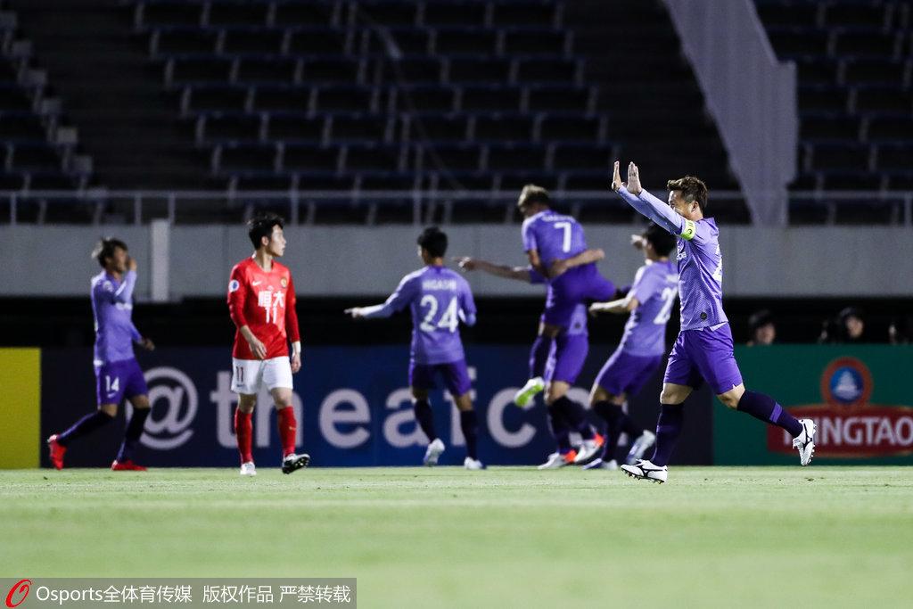 恒大刷新亚冠一耻辱纪录 上次赢J联赛队还是2015年