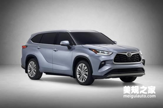 2020款全新丰田汉兰达车型