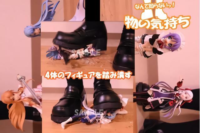 少女踩踏手辦成為新潮流?日本上萬宅男出聲討伐! 作者: 來源:萌番動漫