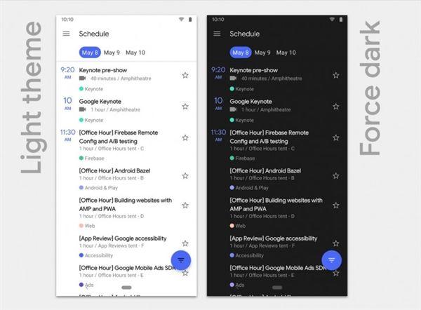 谷歌发布Android Q:设备更新后不重启、支持5G网络/折叠屏