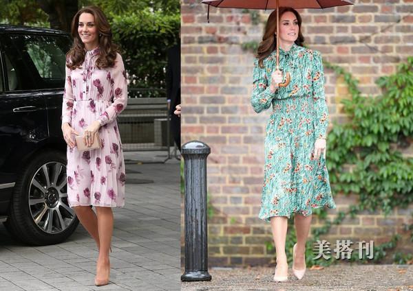 春夏印花连衣裙让你做个美仙子,简单搭配就能穿出时髦休闲感