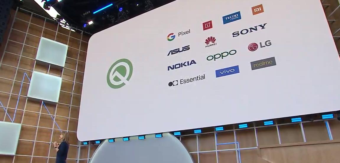 Android Q首批第三方升级机型公布:数量高达21款!