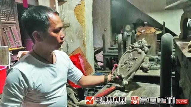 """容县男子这技能绝了,修复古家具获赞""""跟原来的一模一样"""""""