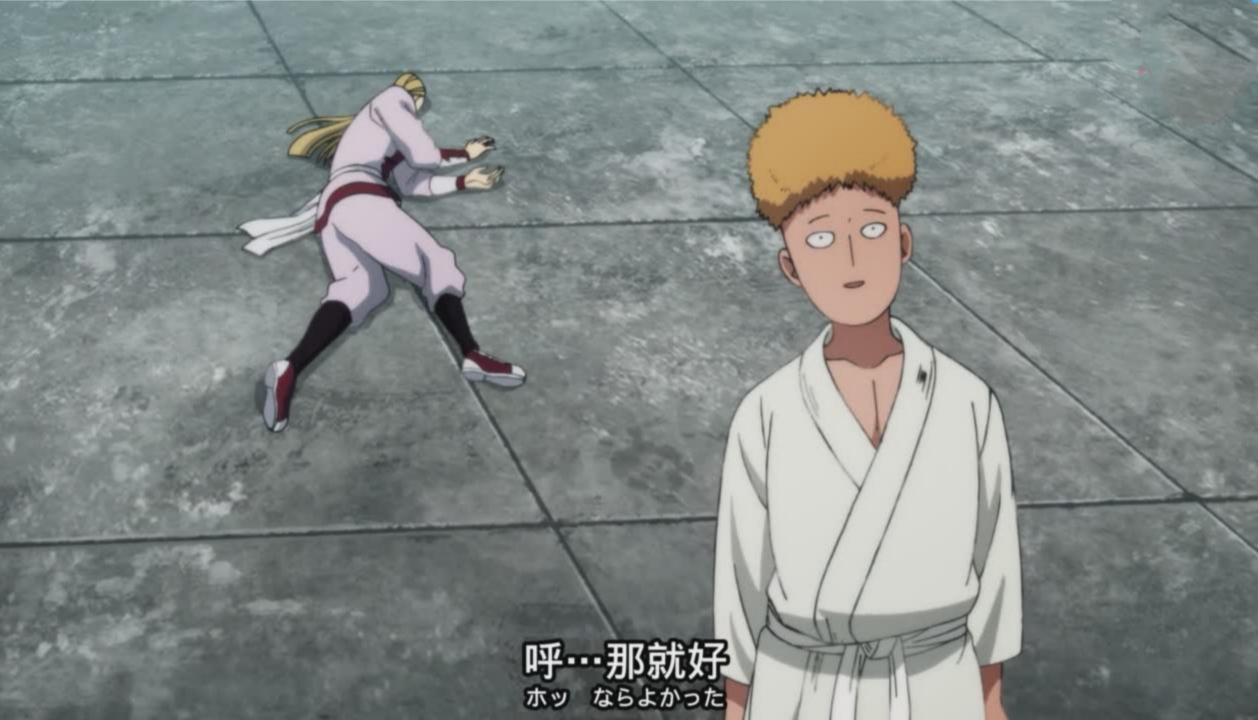 一拳超人:武道大会上只有水龙看出埼玉很强,将作为他最后的对手