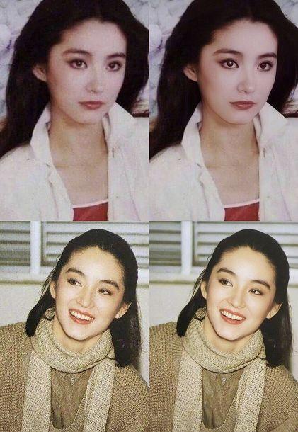 林青霞的美是真的美,又带着股英气 上个世纪八九十年代的香港女星 每图片