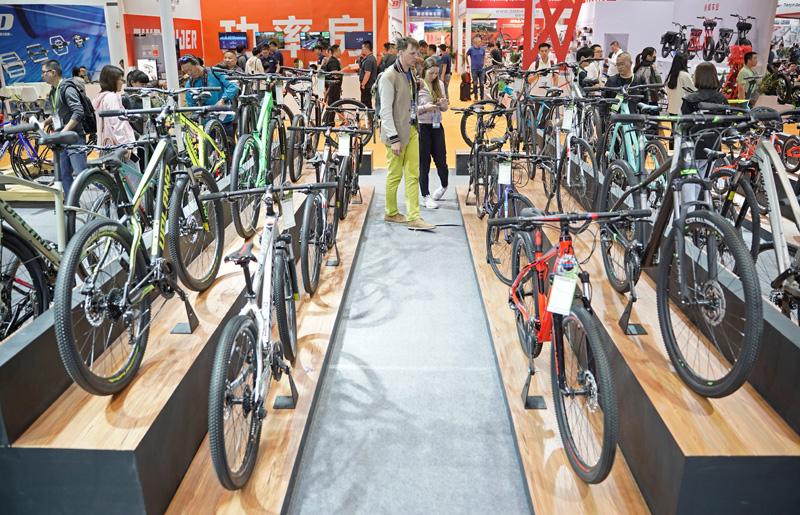 中国国际自行车展览会开幕