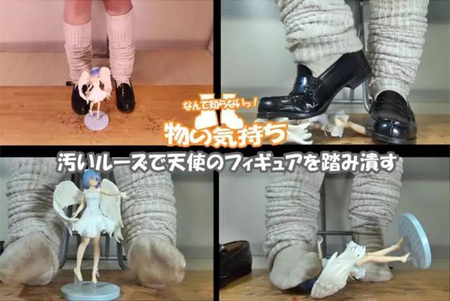 少女踩踏手办成为新潮流?日本上万宅男出声讨伐! 作者: 来源:萌番动漫