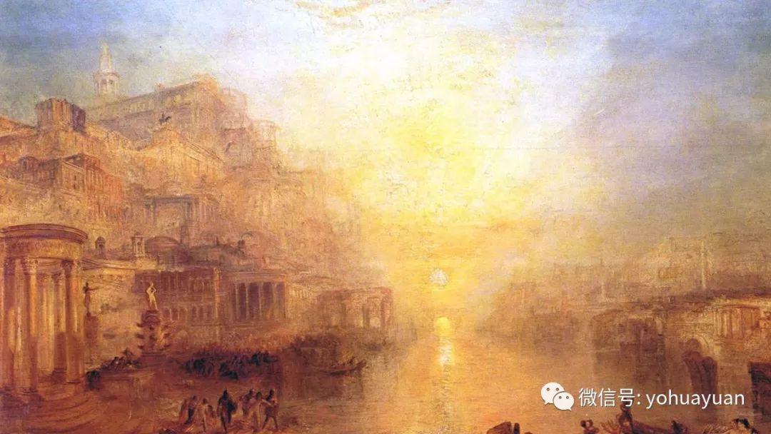 怎样画一张,浪漫主义风景油画?