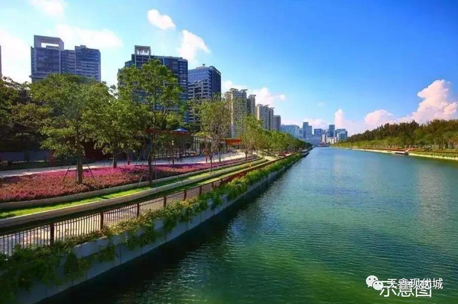 """漯河107西沙河段唯美景观即将呈现,""""六一""""有望开园!"""