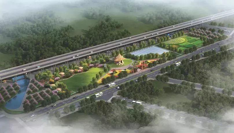 """S1线桥下构建""""一廊三段九点"""" ,将成最美轨道风景线"""