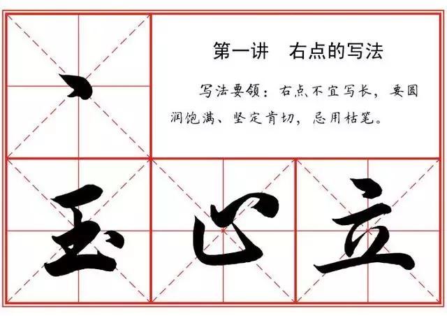汉字的22种笔画写法 史上最全版