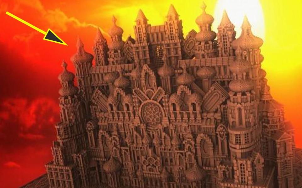 我的世界城堡篇:今天给大家介绍几座你没见过的城堡!