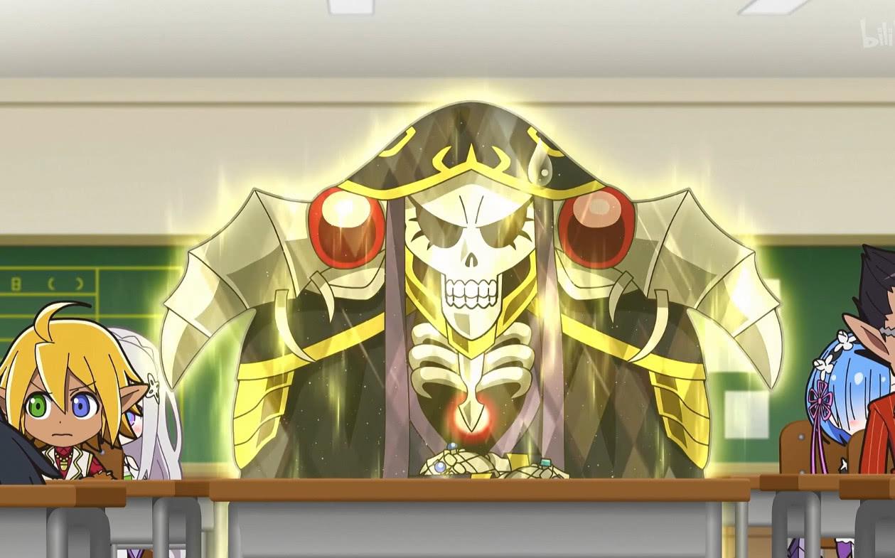 骨王被打出心理陰影,阿庫婭還未出手,BUFF早加滿! 作者: 來源:紳士動漫網