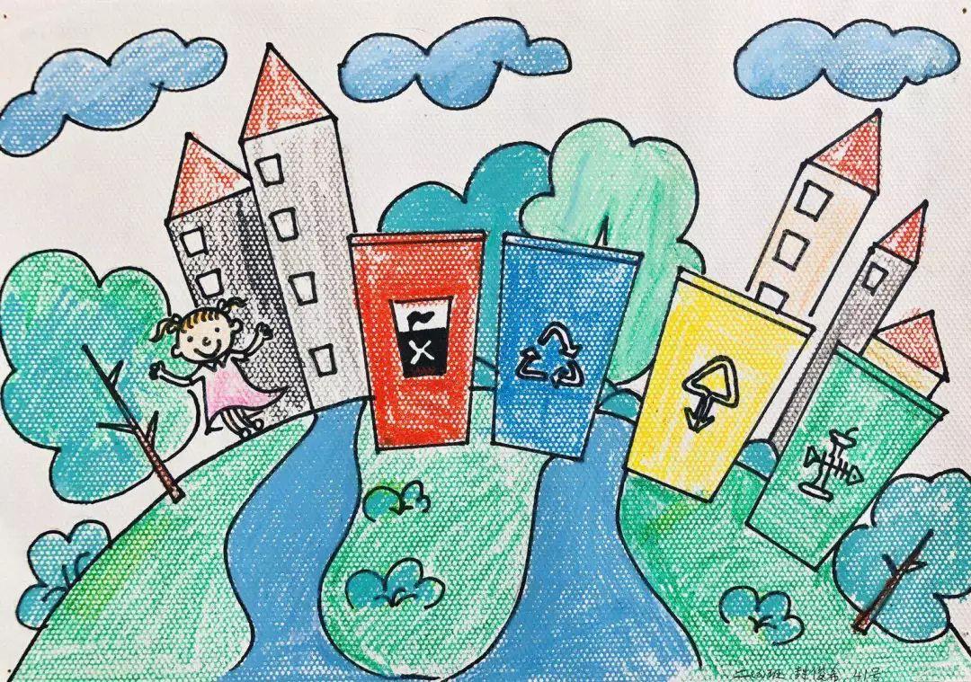 三年级——带动家人一起分类   小手牵大手   社会美十分   ——绘出眼中的美好家园   只有一个地球!