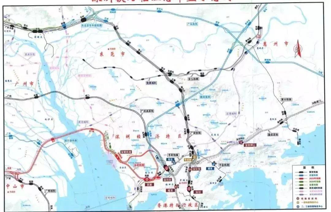 喜讯 西丽纳入深圳三大客运主站,前海将实现 客货分离